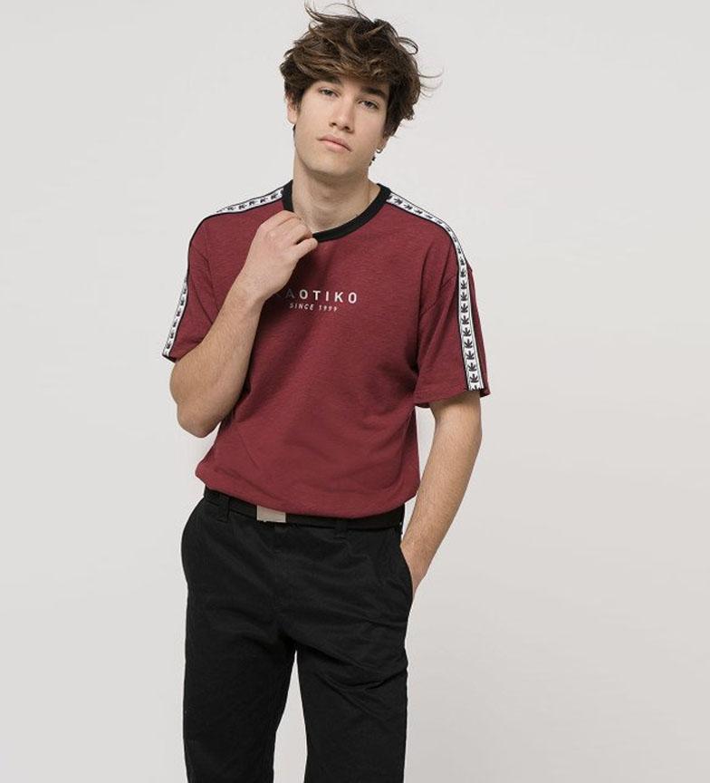 Comprar Kaotiko T-shirt Bandas Garnet