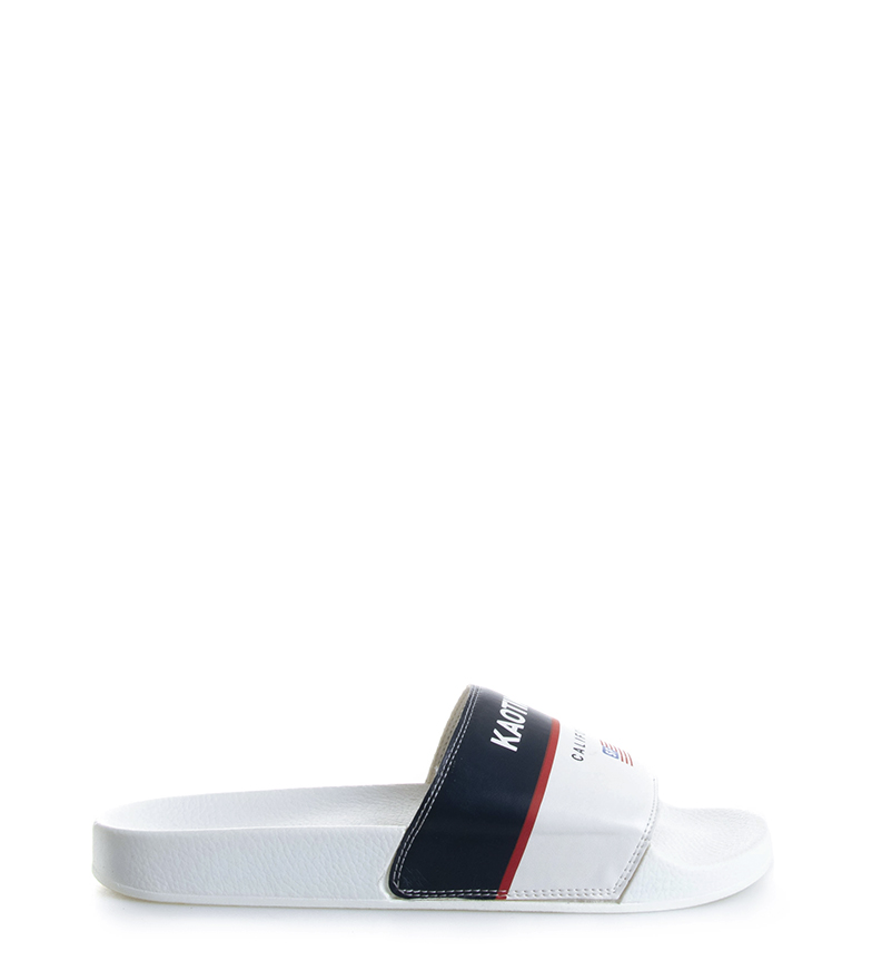 Comprar Kaotiko Slippers California white, marine