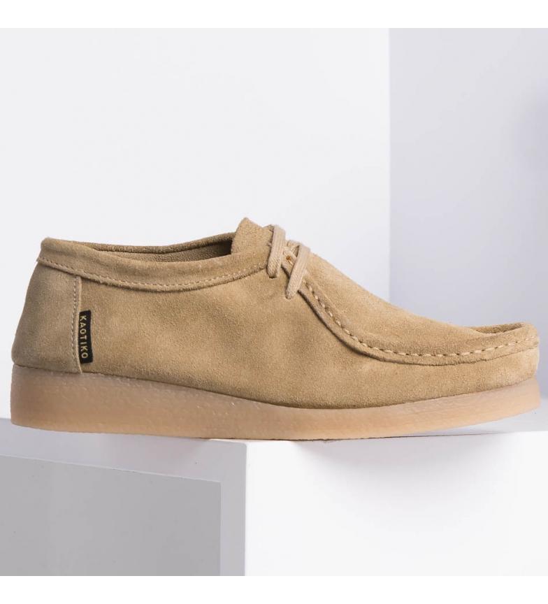 Comprar Kaotiko Zapatos de piel Austin caramelo