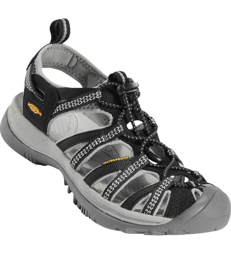 Comprar Keen Sandalias Whisper black, neutral grey -246.6g-