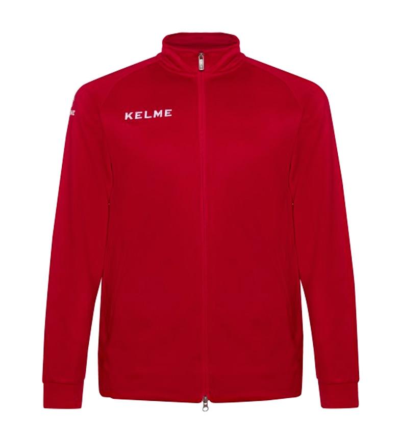 Kelme-Chaqueta-Australia-Global-Hombre-chico-Azul-Rojo-Negro-Deportivo miniatura 3