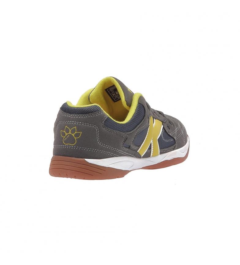 Kelme Zapatillas de piel futsal Indoor Copa gris