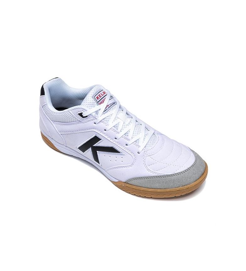 Kelme Zapatillas futsal Precision blanco