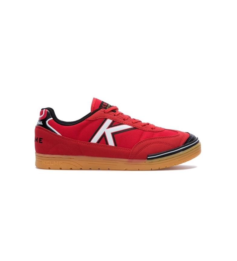 Kelme Zapatillas Trueno futsal rojo