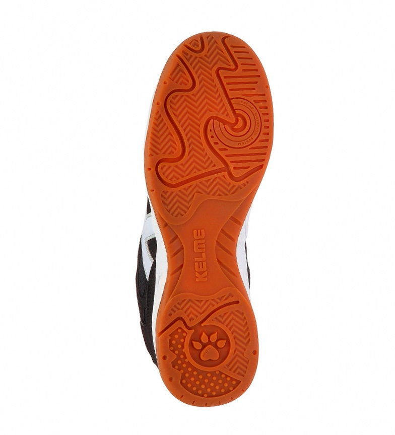 Kelme Zapatillas de piel futsal Indoor Copa negro