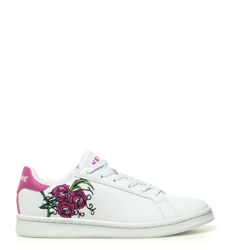 Kelme de Zapatillas lila blanco Kelme Zapatillas piel Omaha Flowers Tennis wAv4Endqx