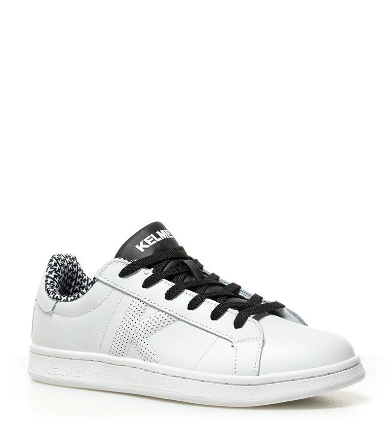 Micro de Kelme Tennis Zapatillas Zapatillas piel Kelme negro de Omaha Rg0qZIB