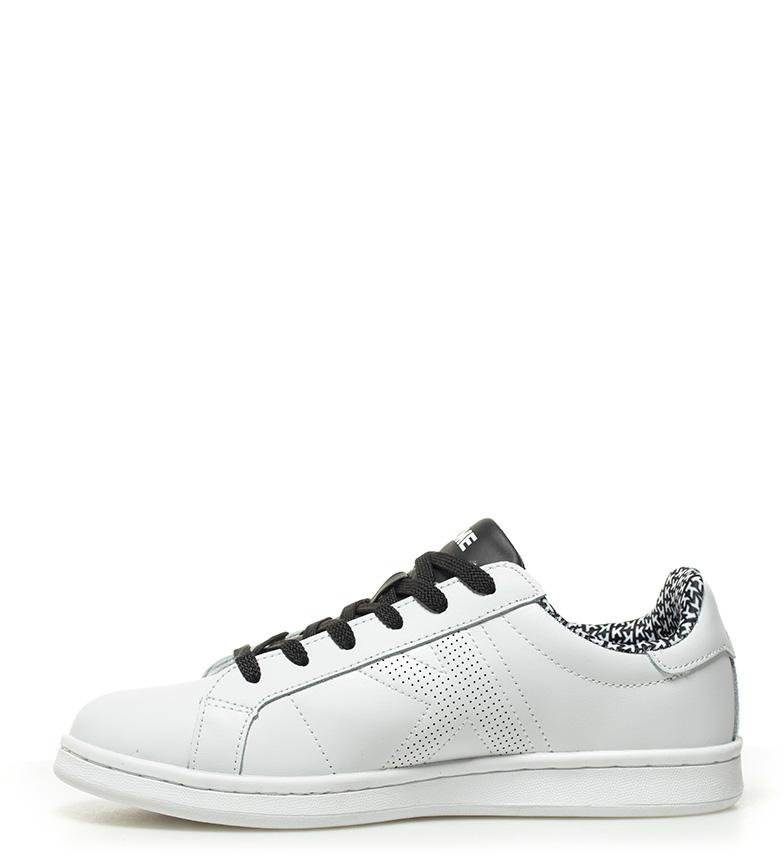 Kelme - Chaussures Omaha Peau Micro Tennis Noir tZgZSSEOz