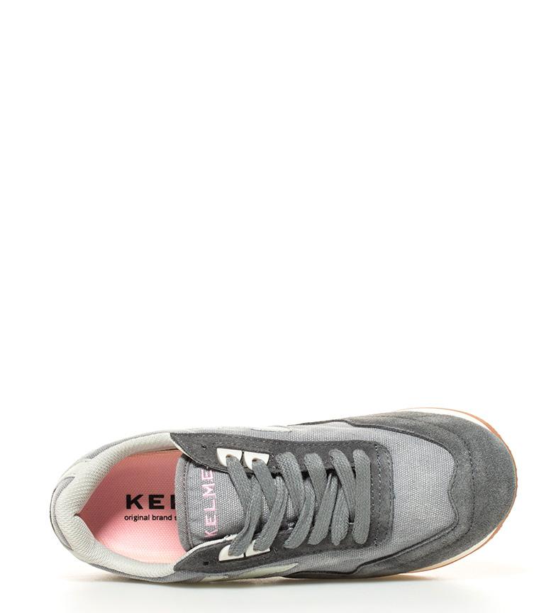 piel gris Zapatillas Passion de Kelme a16EnIzq