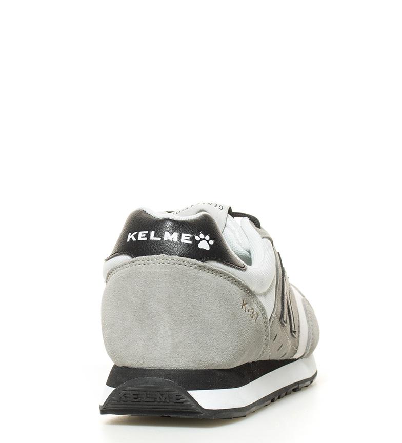 blanco K Kelme negro Kelme 37 Zapatillas Zapatillas gris n8xpwqPR