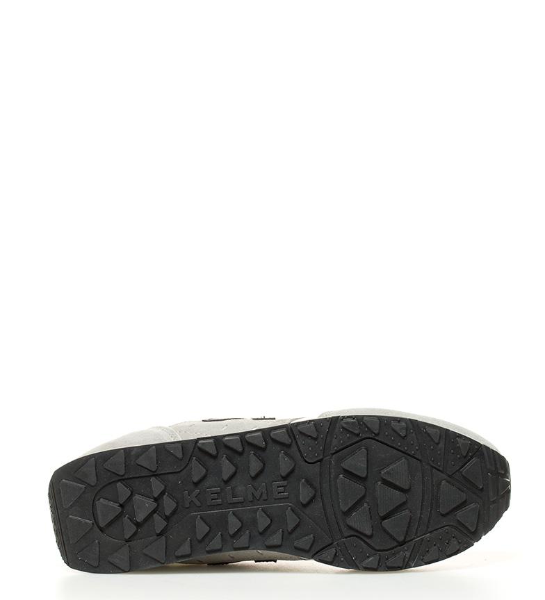 Kelme gris 37 Zapatillas negro blanco K Y7WrY8Bq