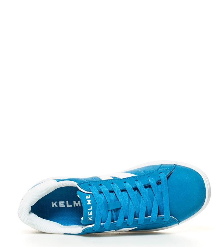 Omaha Zapatillas Azul Piel Kelme De PZTOukXi