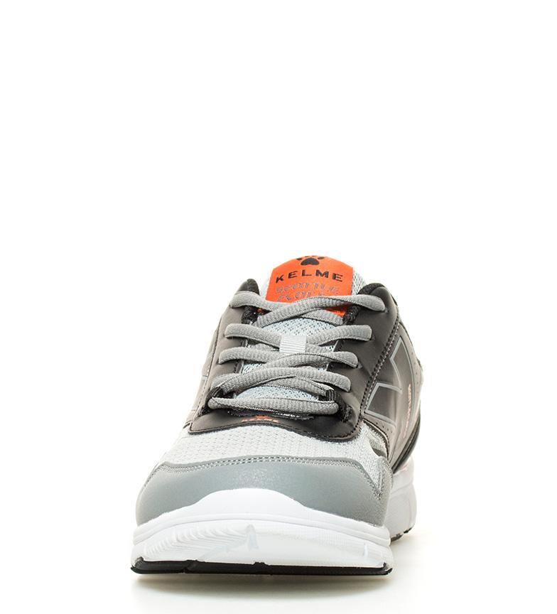 gris 5 0 Zapatillas negro running Flat Seattle Kelme x61pnq