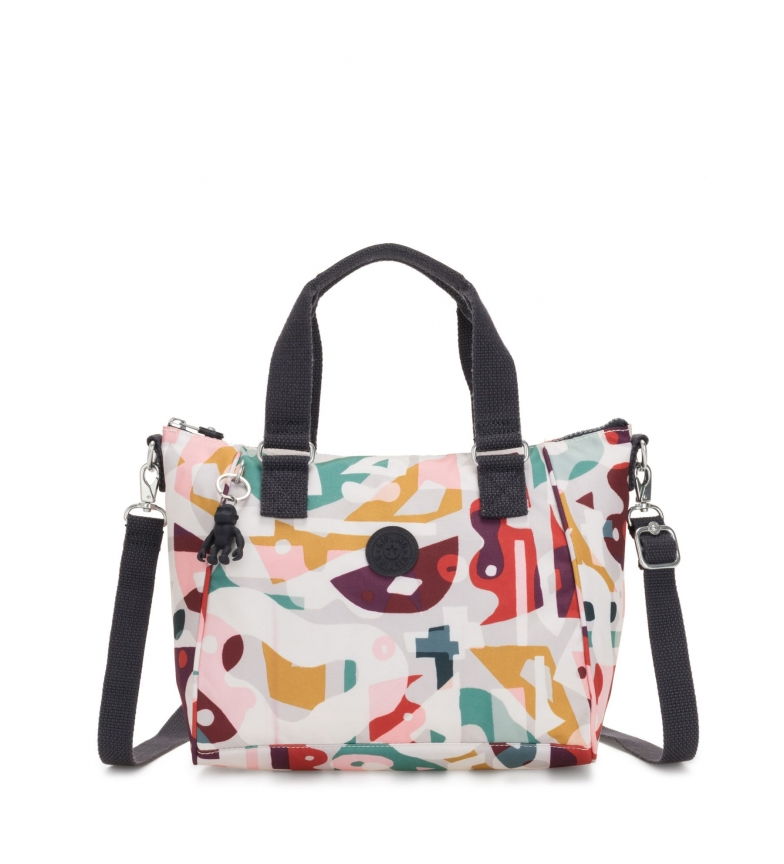 Comprar Kipling Amiel music print bag -27x24.5x14.5cm