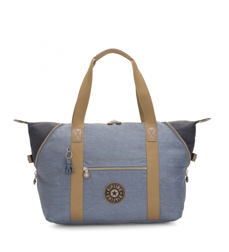 Comprar Kipling Bolsa de viaje Art M stone blue -58x32x20cm-