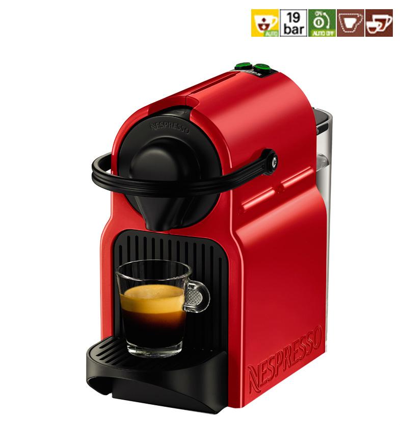 Comprar Cafetera Inissia Krups Rojo Nespresso 7gb6yYf