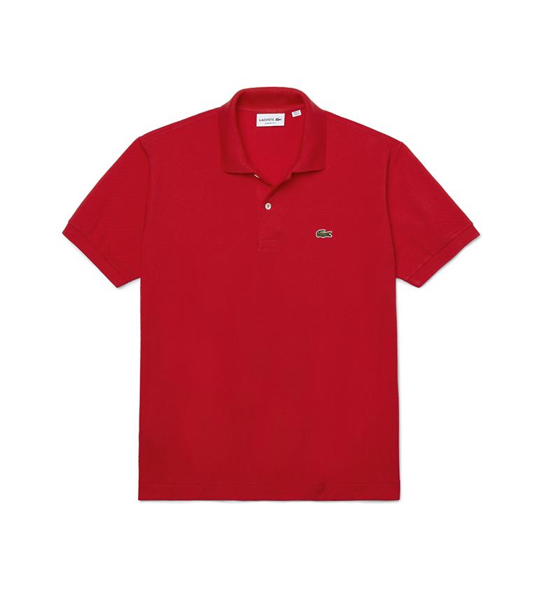 Lacoste Polo L.12.12 Classic Fit rossa