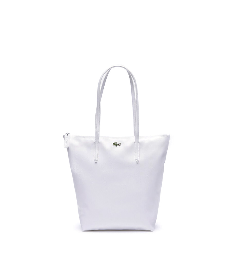 Comprar Lacoste Vertical Shopping Bag L.12.12 Concept white -26x35x16cm