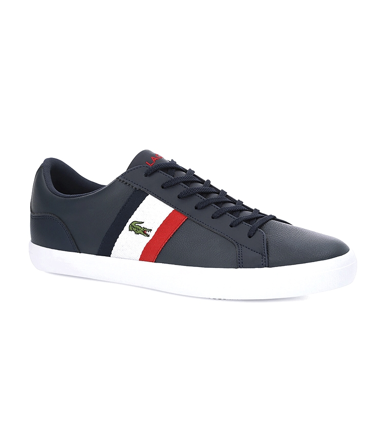 Comprar Lacoste Lerond marine leather shoes