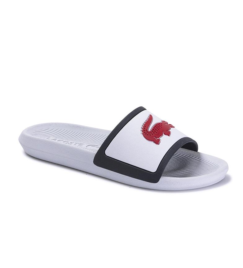 Comprar Lacoste White Croco slippers