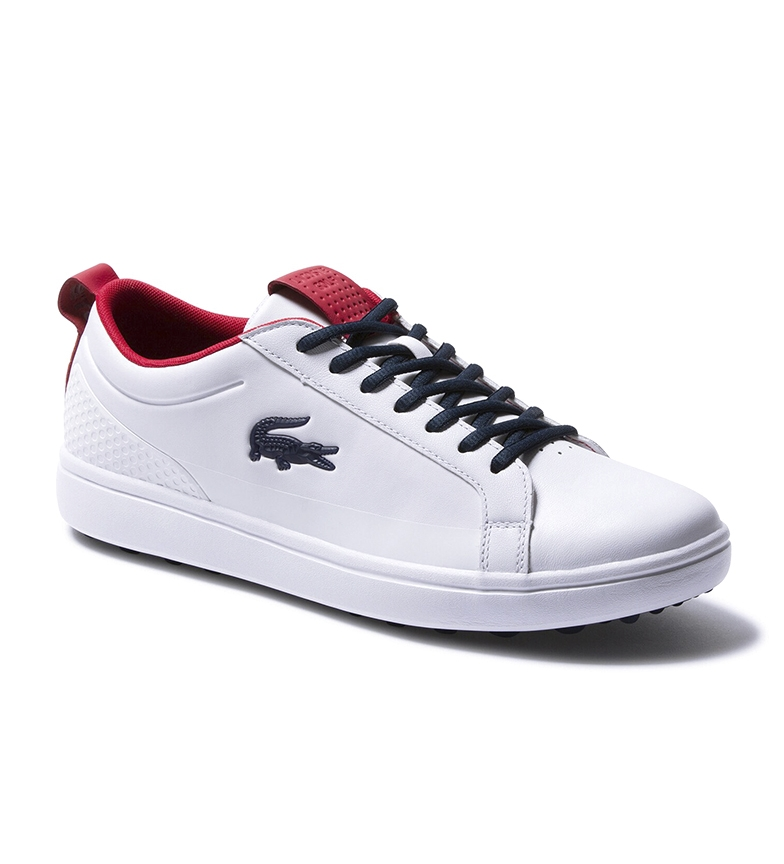Comprar Lacoste Zapatillas G Elite blanco, rojo, marino