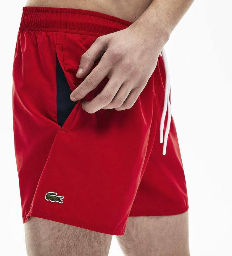 Comprar Lacoste Short swimsuit red