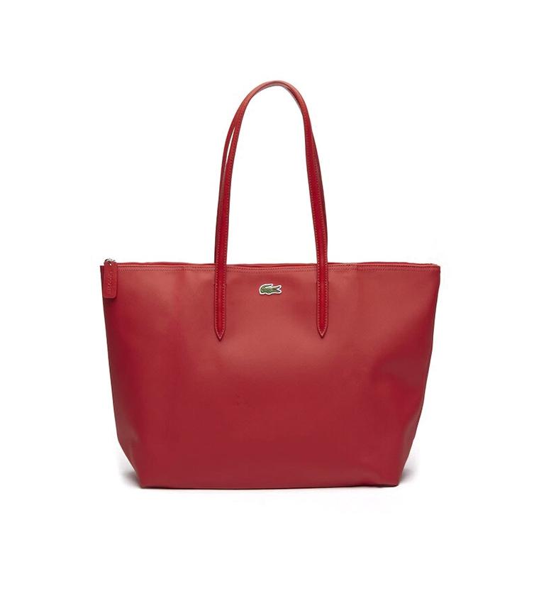 Comprar Lacoste Tote bag L.12.12 Concept red -35x30x14cm