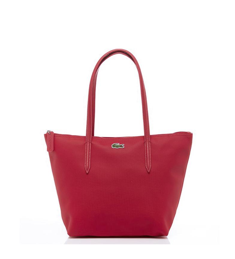 Comprar Lacoste Shopping Bag piccola L.12.12 Concept rosso -24x24,5x14,5cm