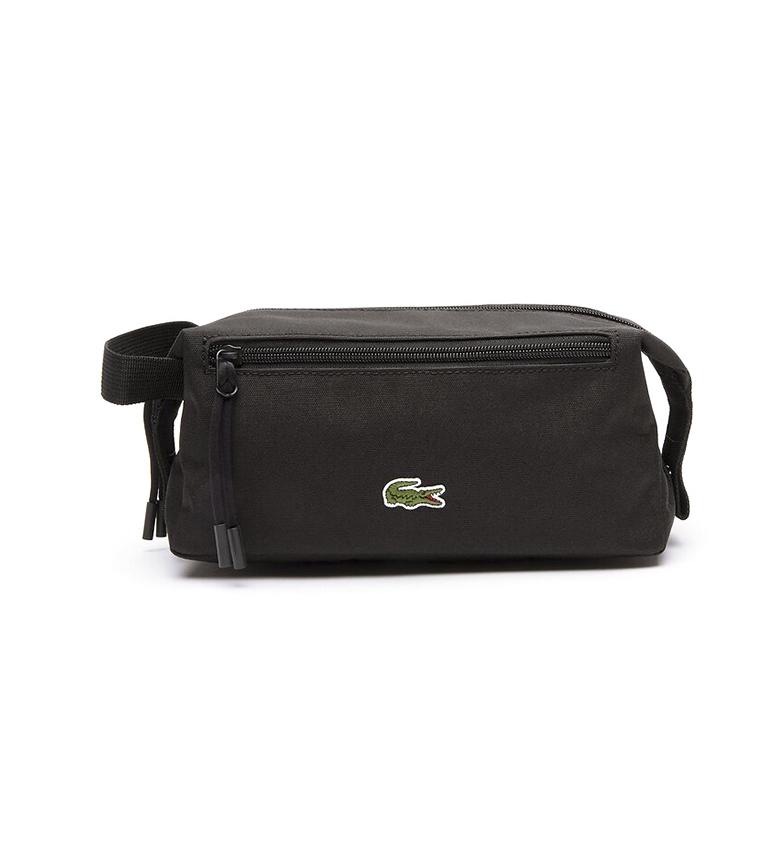 Comprar Lacoste Toilet bag Néocroc black -23.5x14.5x11cm
