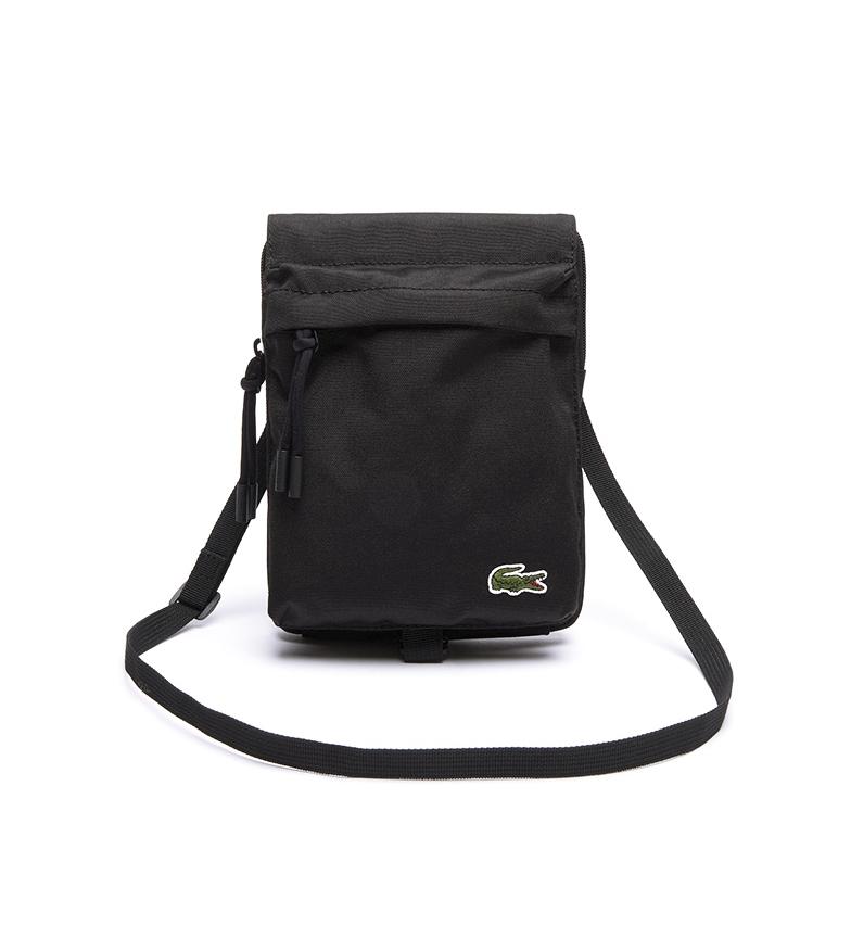 Comprar Lacoste Neocroc mini flat bag black -16x22x2cm
