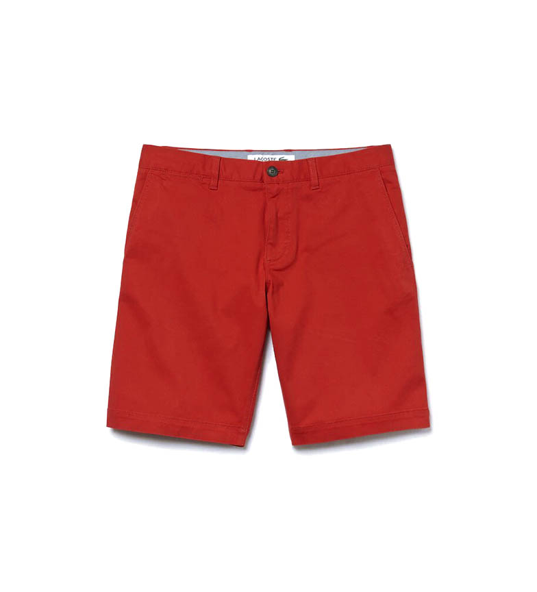 Comprar Lacoste Slim Fit Bermuda shorts red