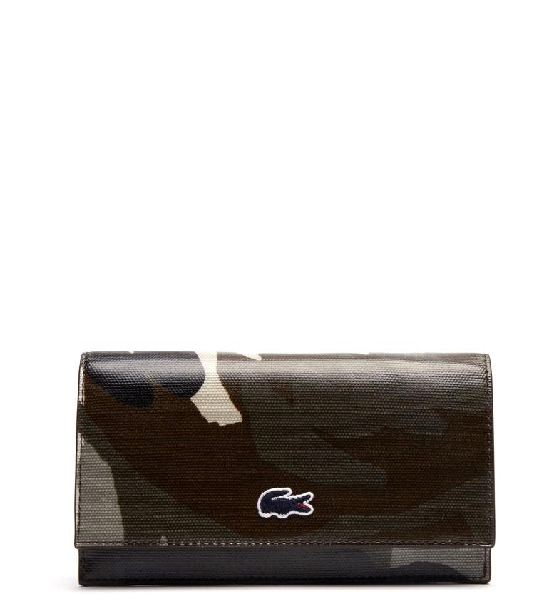 Comprar Lacoste Billetera Robert George camuflaje -11x19x2cm-