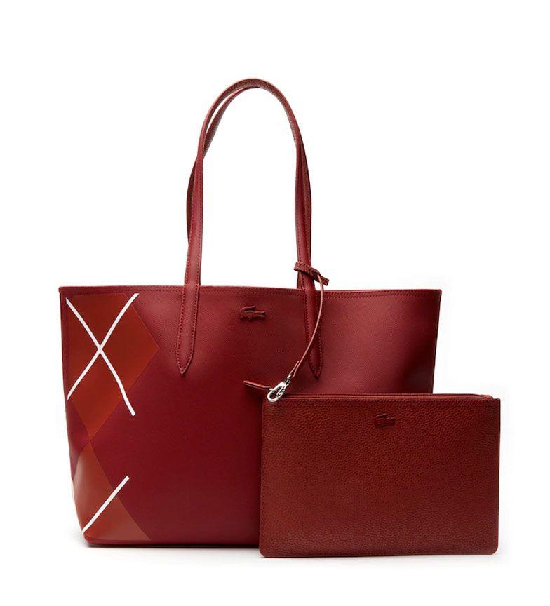 Comprar Lacoste Anna reversible woman tote bag red -35x30x14cm