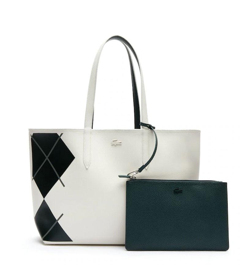 Comprar Lacoste Saco reversível para senhora Anna, branco, verde -35x30x14cm