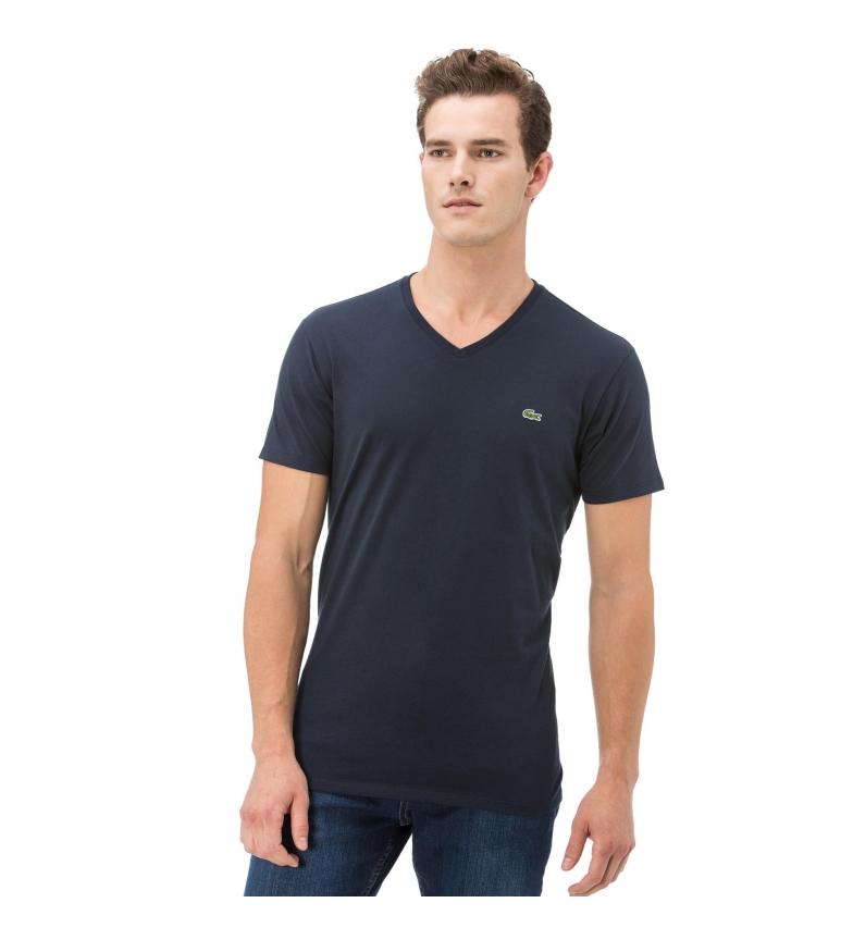 Comprar Lacoste T-shirt V marine