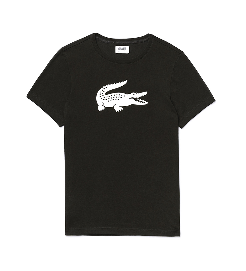 Comprar Lacoste Lacoste Sport Technical Malha Técnica Camiseta de malha preta