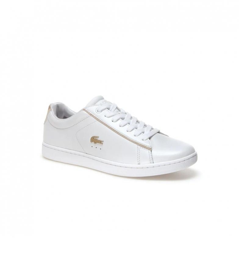 Comprar Lacoste Sapatos de couro Carnavy Evo branco