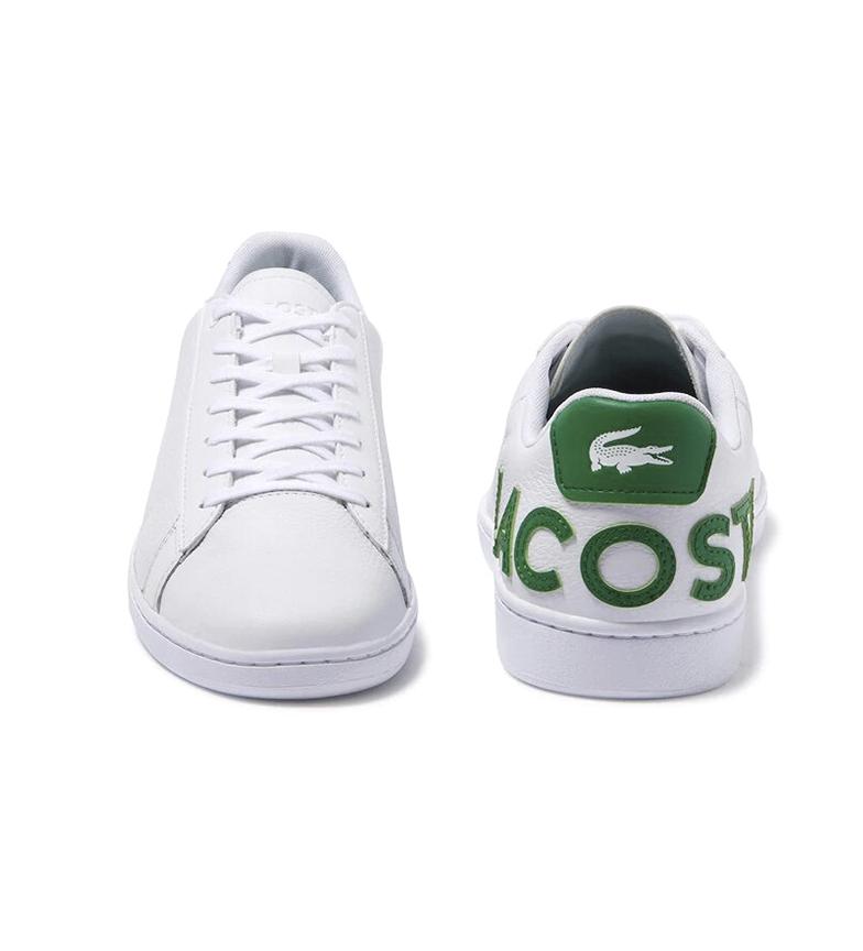 Comprar Lacoste Chaussures en cuir Carnavy Evo blanc
