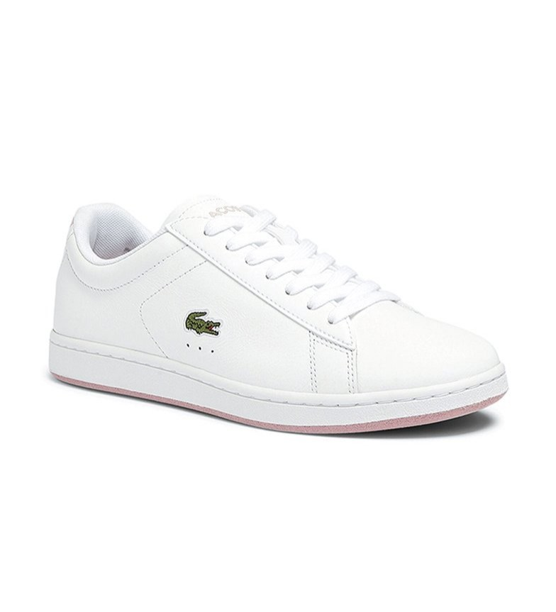 Comprar Lacoste Carnaby Evo white leather sneakers