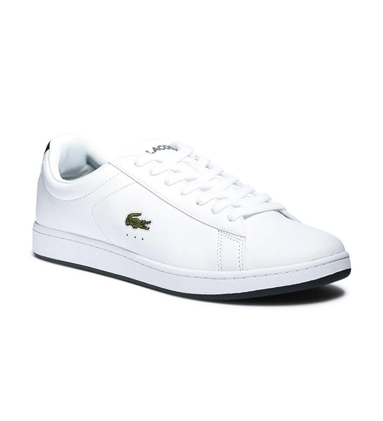 Comprar Lacoste Zapatillas de piel Carnavy Evo blanco