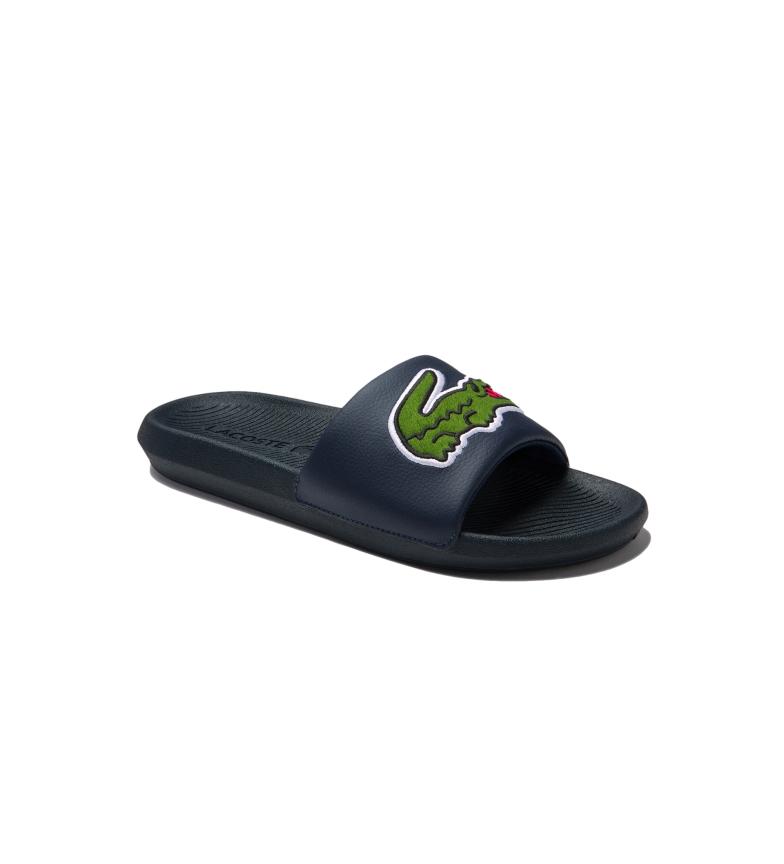 Lacoste Flip flops Croco Slide navy