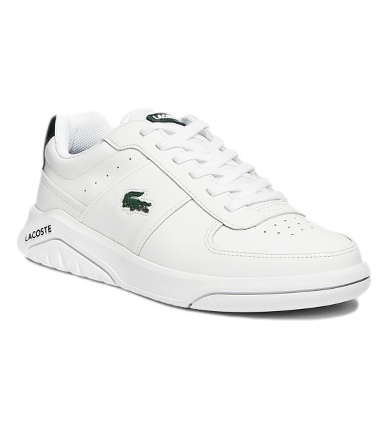 Comprar Lacoste Game Advance 721 2 SMA chaussures en cuir blanc, vert