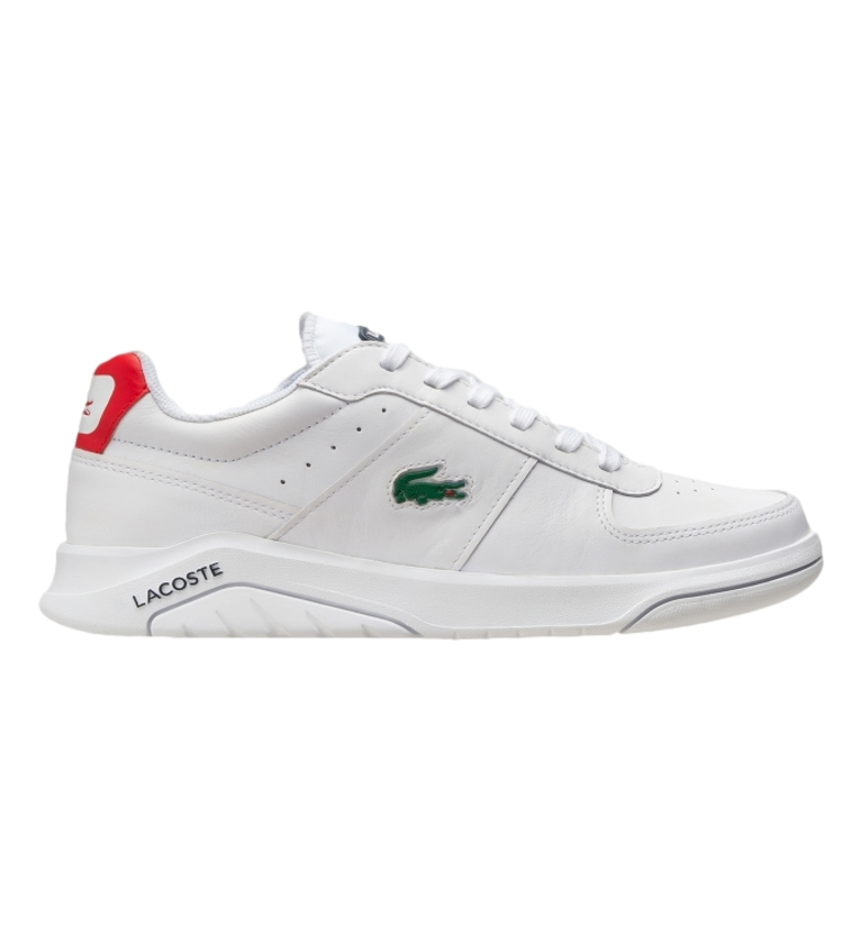 Comprar Lacoste Game Advance 0721 2 SMA leather sneakers white, navy, red