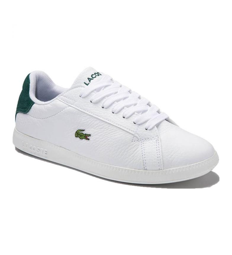 Comprar Lacoste Graduate 0320 2 SFA Leather Shoes white, green