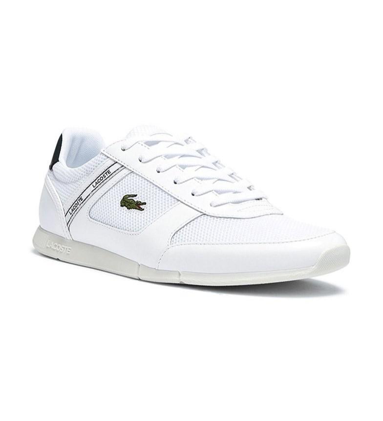 Comprar Lacoste Menerva Sport tênis de couro branco