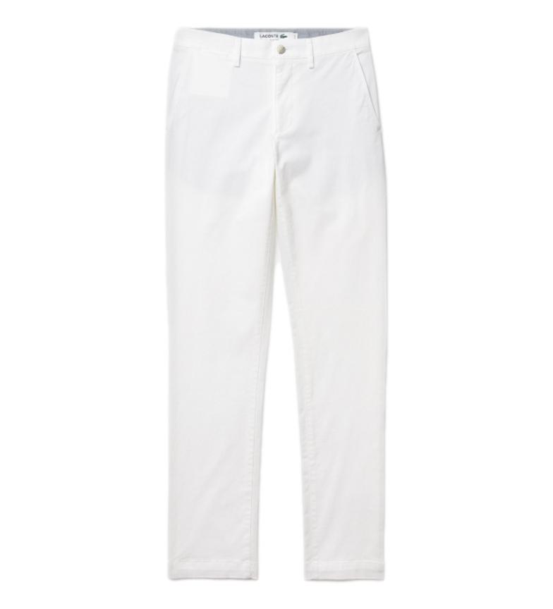 Comprar Lacoste Pantalon chino Loisir blanc
