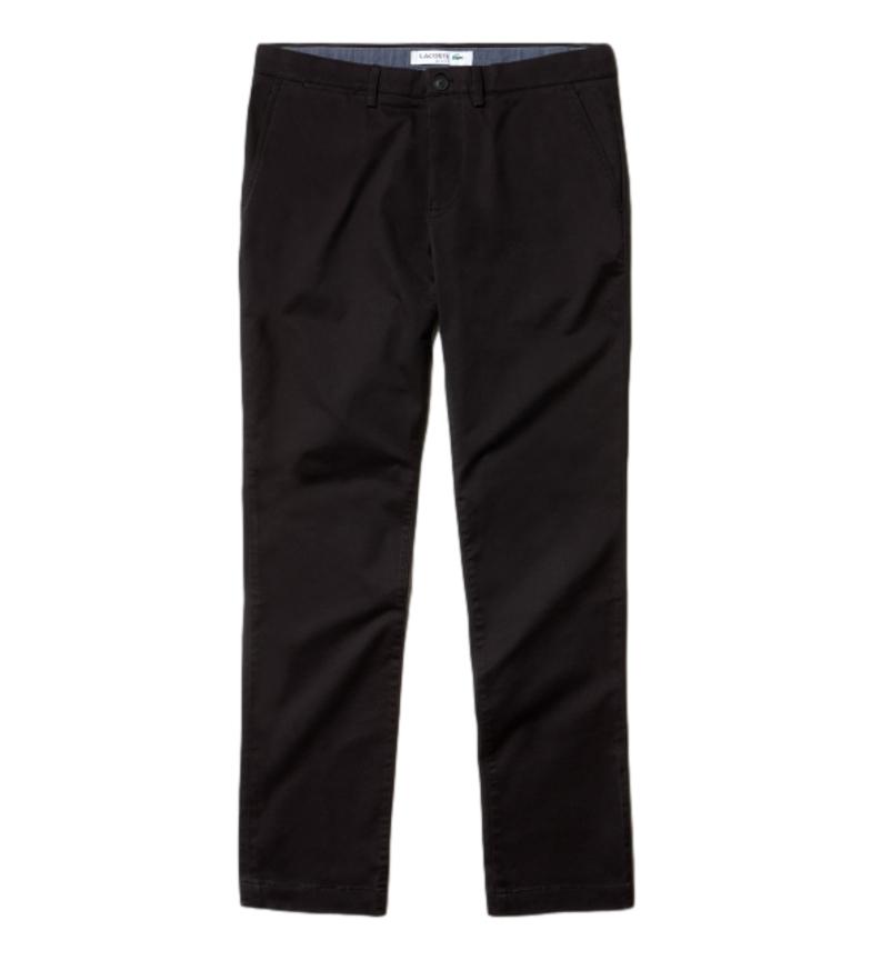 Comprar Lacoste Pantalon chino Loisir noir