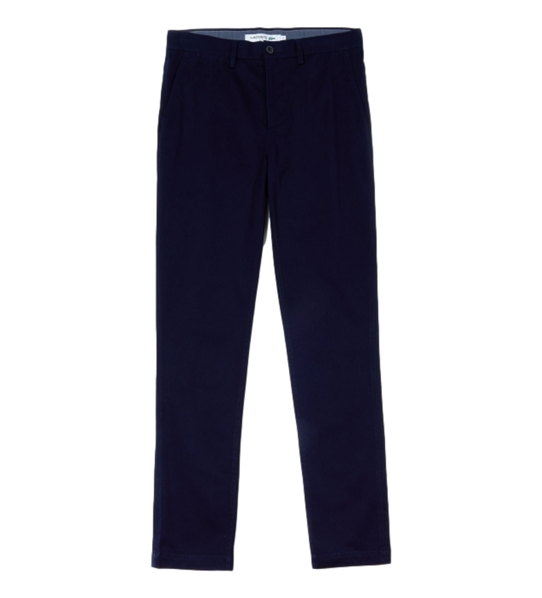 Comprar Lacoste Pantalon chino Loisir bleu marine