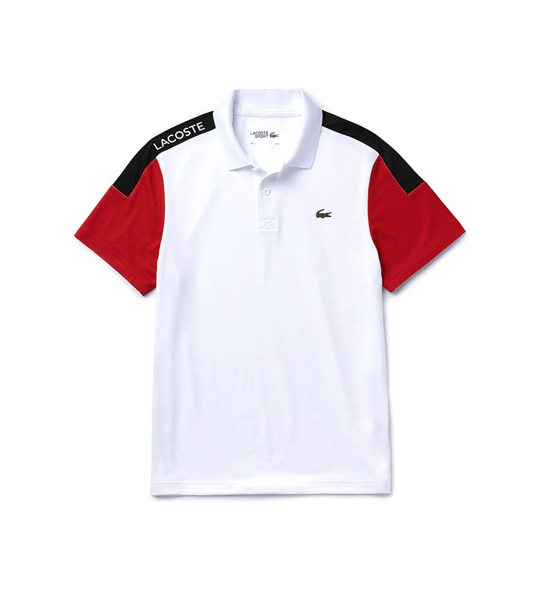 Comprar Lacoste Polo Sport Piqué Blanc respirant