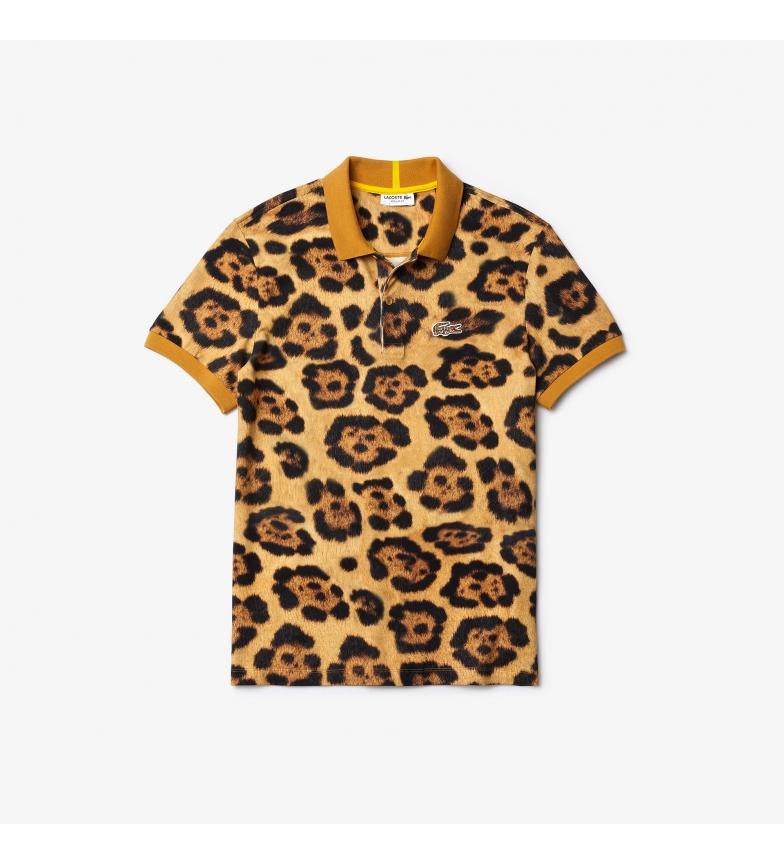 Comprar Lacoste MC man leopard polo shirt